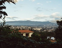 View of Quito from the backyard. #theworldwalk #travel #ecuador
