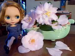 BaD June 22 - Karma Camellia (lyndell23) Tags: blythe blythedoll frenchtrenchblythe sblblythe picmonkey
