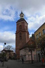 Saint Nikolai Church # 3 - Spandau, Berlin, Germany 2016 (Moocha) Tags: berlin church saint statue germany worship faith religion christian western christianity nikolai foreground spandau