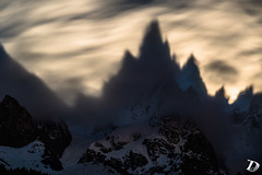Ombres de l'Aiguille de Blaitire DeschampsDamien (Damien DESCHAMPS) Tags: longexposure nightphotography light moon mountains landscape photography photo nikon shadows nightscape magic dream shades fullmoon ridge moonrise moonlight rare peacefull photooftheday chamonixmontblanc aiguilledechamonix