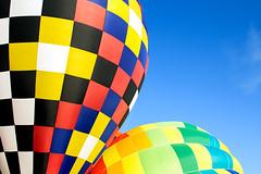 Balloon Buddies (matthewkaz) Tags: cloud colors clouds balloons michigan balloon hotairballoon hotairballoons howell balloonfest 2016 michiganchallenge