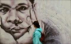 The Face (Edinburgh Photography) Tags: people urban graffiti nikon edinburgh photojournalism documentary leith d7000