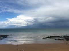 Passing storm (Speckled Jim) Tags: coast kent broadstairs vikingbay