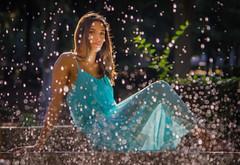 Una ragazza chiamata Roma (adrianaaprati) Tags: portrait parco roma water fountain beauty drops italia outdoor beaut romantic waterdrops acqua fontana ritratto tenderness bellezza villaborghese gocce douceur femininity allaperto femminilit