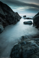 The Blue Hour (psimanc (Simon C)) Tags: seascape wales landscape places filters anglesey attributes ndgrad 6stopnd porthtrecastell littelstopper
