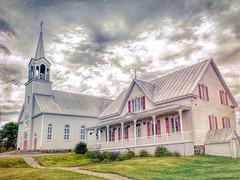 Église et presbytère de St-Zénon
