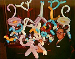 Ernie the Balloon Man (1950sUnlimited) Tags: advertising postcards 1960s advertisements midcentury