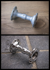 Polijsten (BenBamm) Tags: wheel hub polish front 600 ax polished polishing shimano 600ax