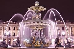 Place de la Concorde (ELCAN KE-7A) Tags: paris france place pentax illumination concorde avenue fontaine k5   champslyses