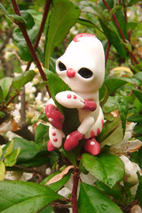 Croustille la Chenille 09 (The Maman Panda) Tags: cute doll artist ooak clown caterpillar resin poupe tendres chimeres