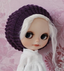 reference for M. (*KaChu*) Tags: wool hat soft purple handmade blythe knitted beanie boho