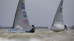 Delta Lloyd Regatta 2013  Sander van der Borch (BritishSailingTeam) Tags: netherlands europe thenetherlands olympic finn medemblik nld deltalloyd olympicclasses deltalloydregatta eurosafchampionssailingcup