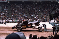 IMG_0061 (Nighthauler Photography) Tags: tractor cars truck pull meadowlands arena crushing bigfoot sled weight