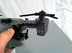 Lego UH-144 Falcon (Chris_cobra) Tags: flying lego halo falcon vehicle reach vtol unsc uh144