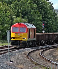 60039 6L15 toton whitemoor @oakham (Photography by Iain Wright) Tags: oakham class60 60039 dbschenker 6l15