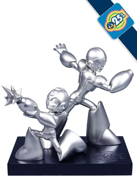 洛克人25週年全球限定1000 體雕像
