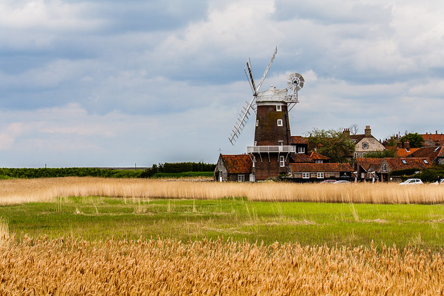 Cley Windmill in Summer