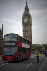 Westminster (Lauren Louise Vipond) Tags: red bus london clock westminster housesofparliament parliament bigben clocktower vehicle westminsterbridge londonbus redbus westminsterpalace