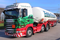Stobart Group - Scania R440 - PJ11AVX 'Lynn' (Andy2982) Tags: truck stobartgroup scania r440 pj11avx lynn h6363 eddiestobart fueltransportation tankertrailer stobartpark merseysidemultimodalgateway3mg ditton widnes cheshire