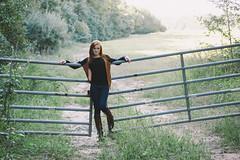 Emily (KyleWillisPhoto) Tags: portrait film girl fashion canon pose eos rebel 50mm model woods gate kodak bokeh modeling fashionphotography path farm country redhead portraiture f18 portra cowboyboots t3i 50mmf18 portra400 400vc 600d modelphotography kissx5 kylewillisphotography assunpinklake