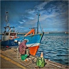 Douarnenez - Finistère 2013 (Philippe Hernot) Tags: douarnenez finistère 29 bretagne france port pêche philippehernot kodachrome carré square mygearandme breton bateau boat pêcheur harbor mer sea nikon nikond700 posttraitement