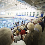"""<b>Aquatic Center Dedication of Service_100413_0048</b><br/> Photo by Zachary S. Stottler Luther College '15  <a href=""""http://farm8.static.flickr.com/7366/10095685363_0b5c01d6a7_o.jpg"""" title=""""High res"""">∝</a>"""