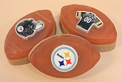 Football with Steelers Eraser $3.00 (Clelian Heights) Tags: sports football steelers soaps unscented decorativesoaps cleliansoaps cleliancenter