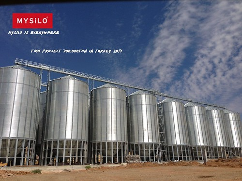 Mysilo Grain Storage Steel Silos - TMO Project