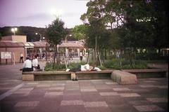 too tired zzz (komehachi888) Tags: kobe petri mumbling fujixtra400 filmshots orikkor45cmf19