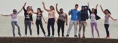 Valentina & co. (laurw) Tags: friends portrait amigos colors outside retrato young 15 joven exteriores