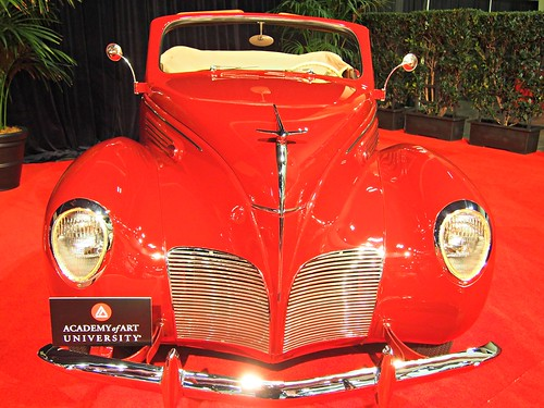 1938 Lincoln Zephyr Convertible 2