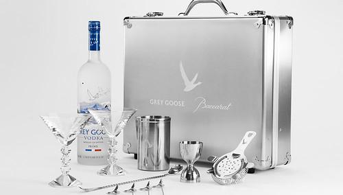 Grey Goose and Baccarat Partner on an Exclusive Cocktail Kit