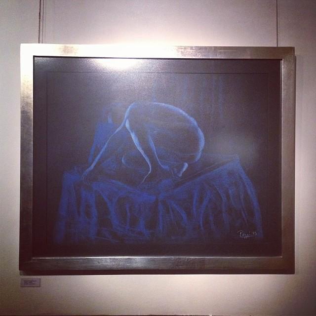 """Sebastian Poggi Garland en la presentación de nueva Galeria de Arte """"PARALELO"""" #arte #art #arteenlima #artinlima #artista #artist"""