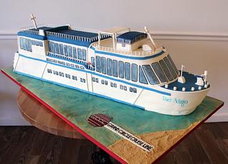 Cruise Ship Cake
