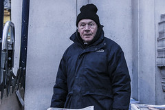 London Paperman (robynclark_photography) Tags: london documentary paperman