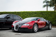 Bugatti Veyron (Matthew C. Photography) Tags: red black classic beach 35mm photography for hotel nikon florida sale matthew c engine lot palm owned 164 breakers f18 bugatti flo eb w16 valet veyron 2014 rida cavallino d3200 1001hp