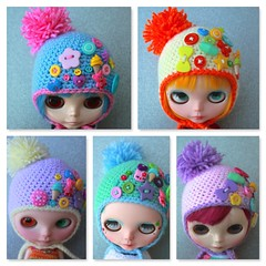 Sickly Sweet Decora Hats
