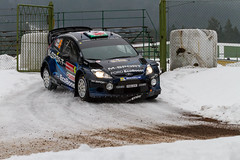 IMG_9345_Marco Rimola_EOS 7D_07_02_2014 (Marco Rimola) Tags: snow classic cars ford ice car fiesta mud sweden rally karlstad wrc sverige rs motorsport drift rallycar rallysweden wrc2 rallysweden2014 hagfrs