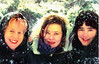 Claire, Virginia and Sarah 1990