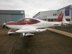 G-KOCO Cirrus SR22 Turbo (Aircaft @ Gloucestershire Airport By James) Tags: james airport gloucestershire turbo lloyds cirrus sr22 egbj gkoco