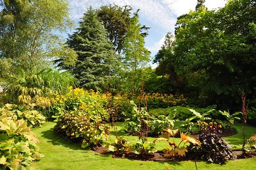 Jardins du parc de Culzean Castle, Maybole, South Ayrshire, Ecosse, Grande-Bretagne, Royaume-Uni.