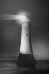"""Standing Tall"" (Ray Mcbride Photography) Tags: blackwhite northwest atmospheric newbrighton merseyside northwestengland fortperchrock newbrightonlighthouse"