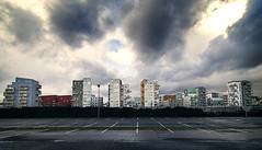 Ile de Nantes (Luc. T) Tags: city sky cloud rain skyline de ile nantes
