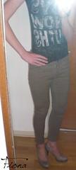 New jeans (fiona_cd1) Tags: cute sexy legs young crossdressing teen german heels fiona crossdresser crossdress