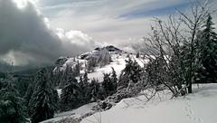 arber_01 (rhomboederrippel) Tags: snow clouds forest germany one mini summit february wald arber bavarian htc 2014 zwiesel bayerischer rhomboederrippel