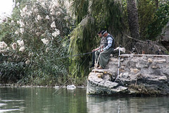 Fishermen, Shatt al-Arab Waterway, Basra, Iraq