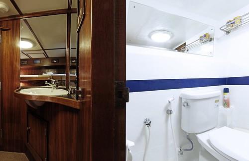 Budget CAbin Bathroom