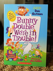 Bunny Double, We're in Trouble! (Vernon Barford School Library) Tags: new school fiction bunny dan easter reading book weird high library libraries reads jim books super double special read paperback trouble cover junior novel covers bookcover pick middle vernon quick recent picks qr bookcovers paperbacks novels fictional barford softcover gutman quickreads quickread vernonbarford softcovers paillot superquickpicks superquickpick myweirdschool 9780545734240