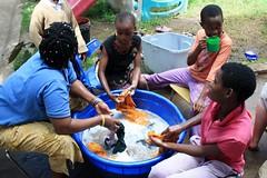 Schooluniform wassen