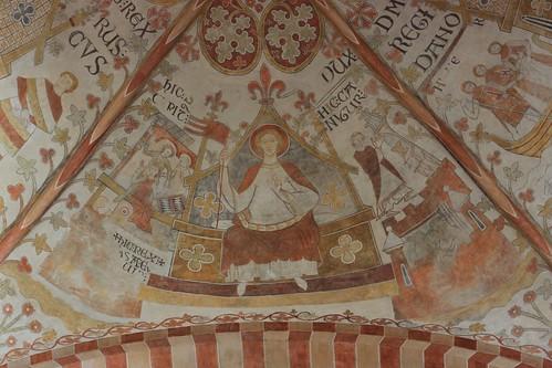 SCt. Bendts kirke - ceiling 2014-04-15-09